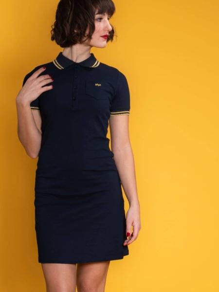 Jersey kleid retro