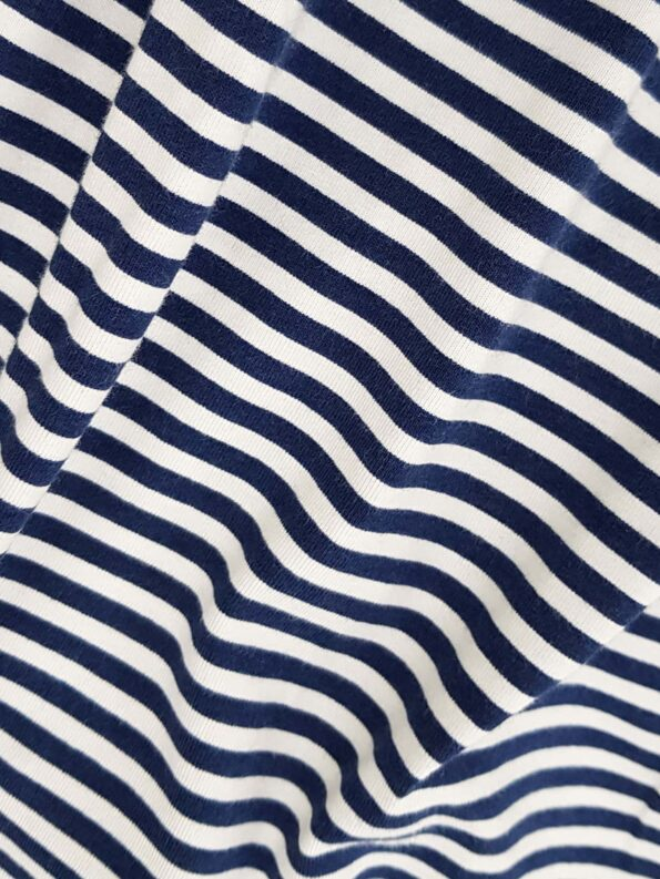 SS19-Stripes Blue Stoff
