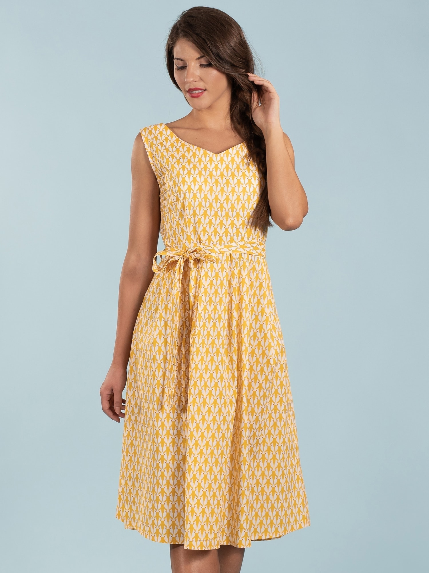 142e54be6c Sing Me A Song Dress - Cockatoo - Mademoiselle YéYé