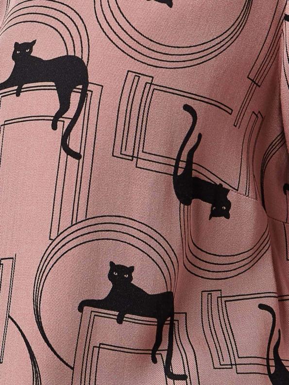 stoff panther pink